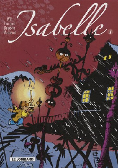 Couverture isabelle tome 1 - intégrale isabelle tome 1 (t1 a 4)