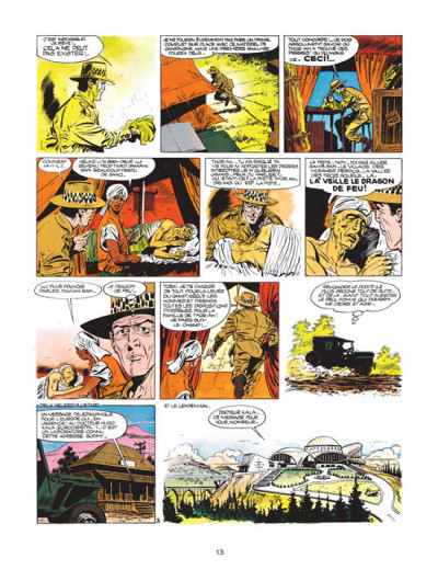 Page 3 luc orient - intégrale tome 1