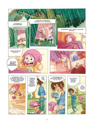 Page 5 ernest et rebecca tome 1 - mon copain est un microbe
