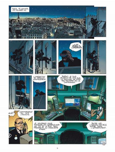 Page 4 les aventuriers du temps tome 1 - piégés