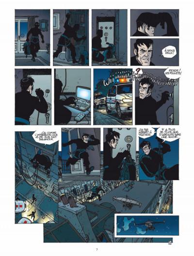 Page 5 les aventuriers du temps tome 1 - piégés