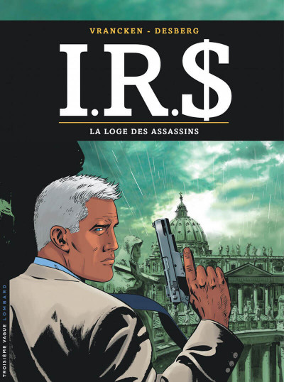 Couverture IRS tome 10