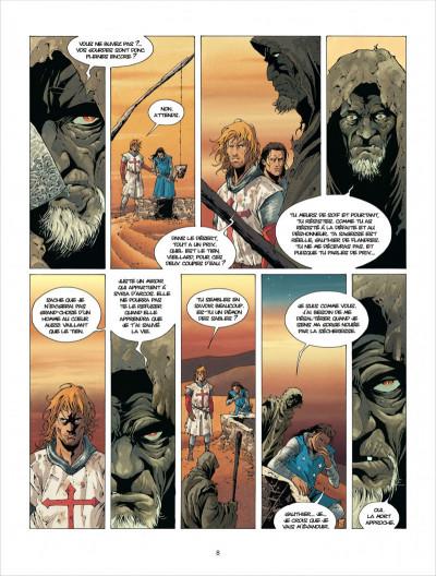 Page 8 croisade tome 2 - le qua'dj