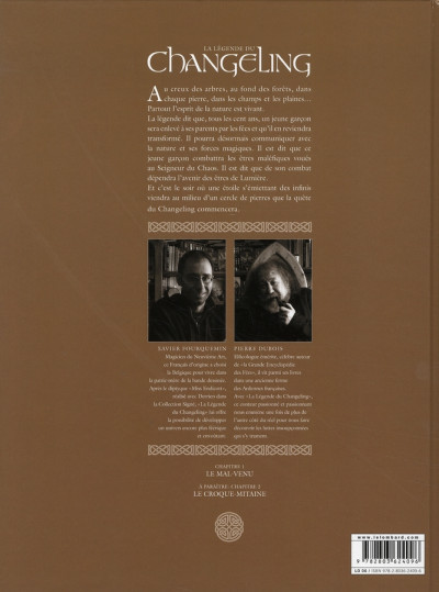 Dos la légende du changeling tome 1 - le mal-venu