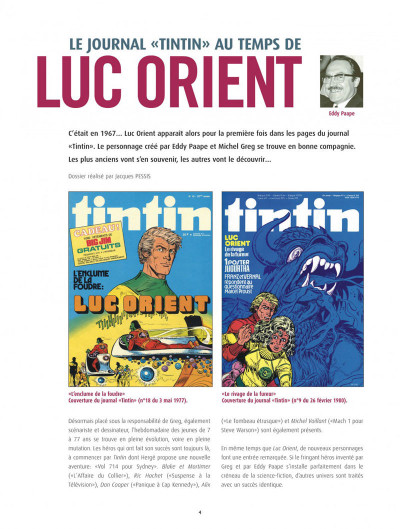 Page 4 luc orient - intégrale tome 4