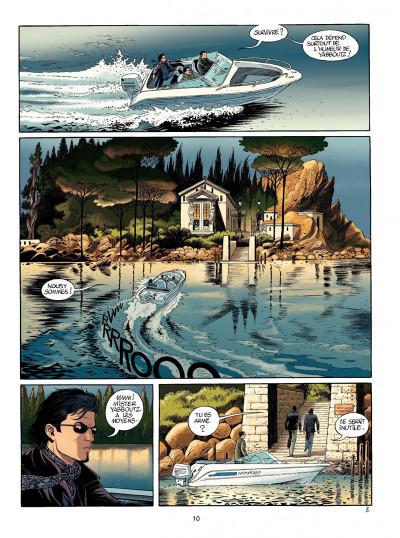 Page 8 niklos koda tome 10 - trois d'épées