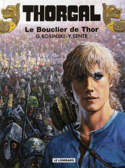 Couverture thorgal tome 31 - le bouclier de thor