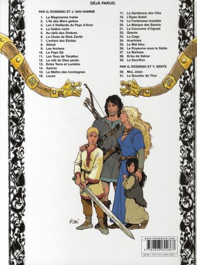 Dos thorgal tome 31 - le bouclier de thor