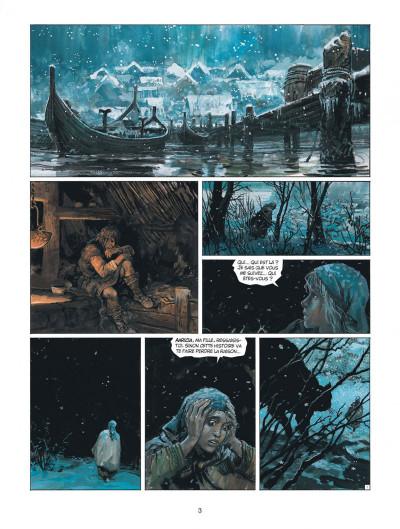 Page 3 thorgal tome 31 - le bouclier de thor