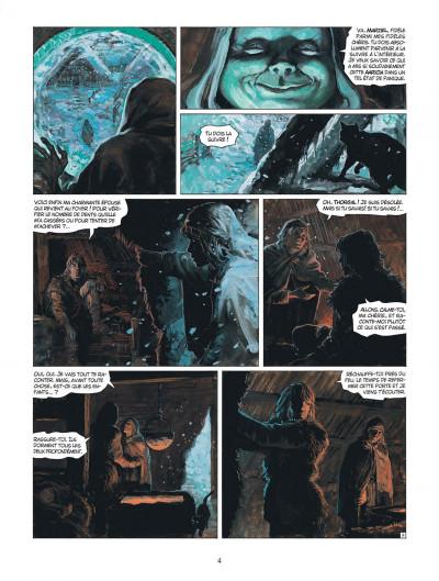 Page 4 thorgal tome 31 - le bouclier de thor