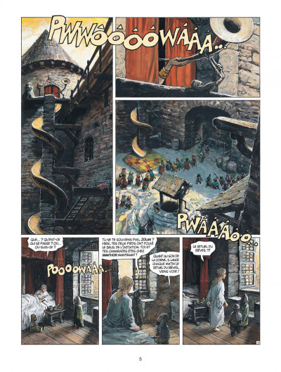 Page 5 thorgal tome 31 - le bouclier de thor