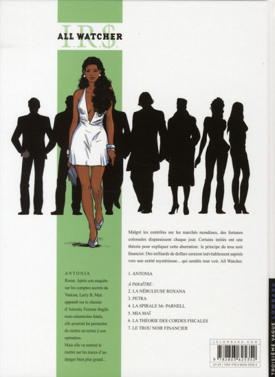 Dos ir$ all watcher tome 1 irs - antonia