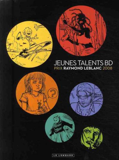 Couverture jeunes talents bd ; prix raymond leblanc 2008