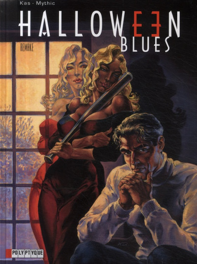 Couverture halloween blues tome 7 - remake