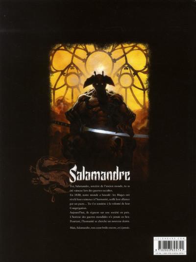 Dos salamandre tome 2 - vortex lumière