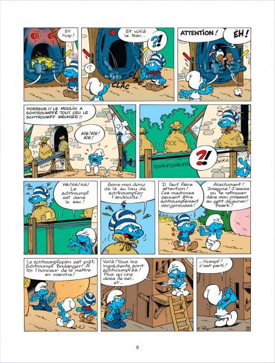 Page 9 les schtroumpfs tome 21 - on ne schtroumpfe pas le progrès