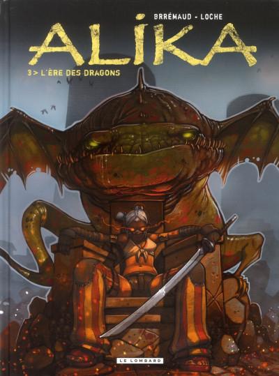 Couverture alika tome 3 - l'ère des dragons