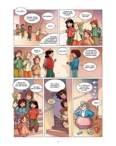 Page 6 cédille tome 1 - zizanie au zoo