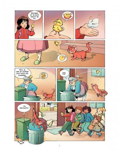 Page 7 cédille tome 1 - zizanie au zoo
