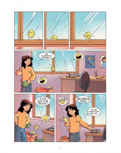 Page 3 cédille tome 2 - panique au cirque