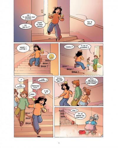 Page 5 cédille tome 2 - panique au cirque