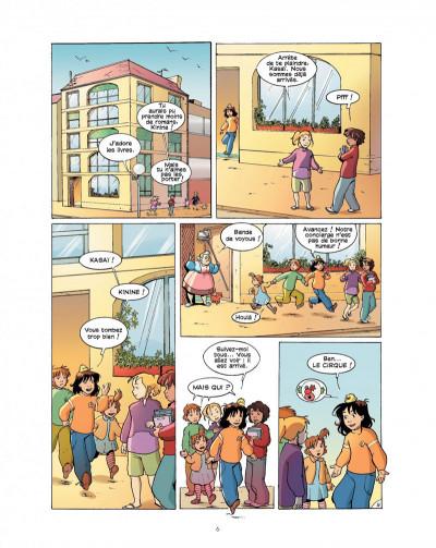 Page 6 cédille tome 2 - panique au cirque