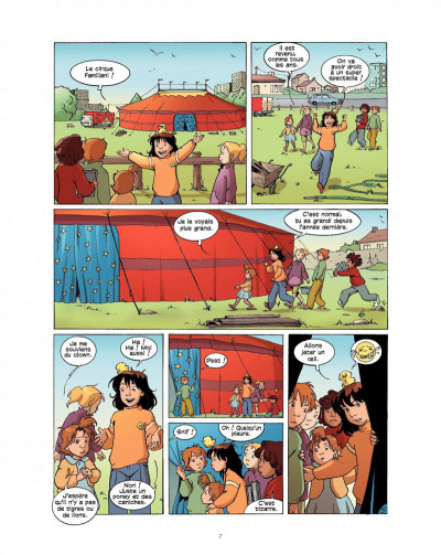 Page 7 cédille tome 2 - panique au cirque