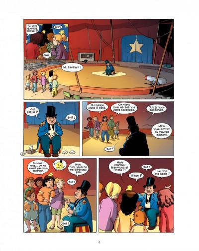 Page 8 cédille tome 2 - panique au cirque