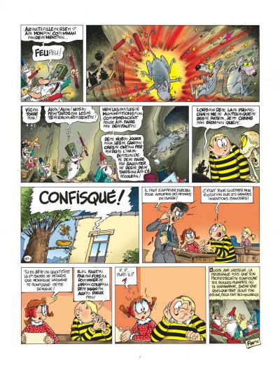 Page 7 l'élève ducobu tome 16 - confisqués