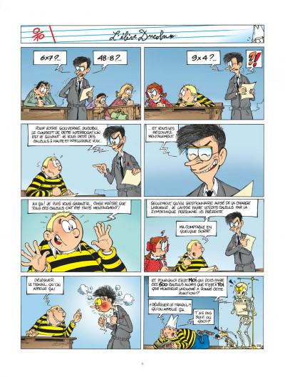 Page 9 l'élève ducobu tome 16 - confisqués