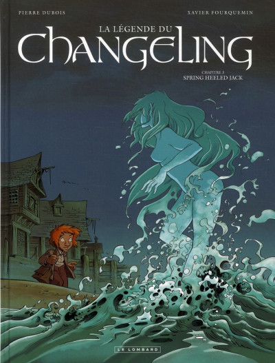 Couverture la légende du changeling tome 3 - spring heeled jack