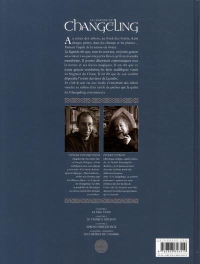 Dos la légende du changeling tome 3 - spring heeled jack