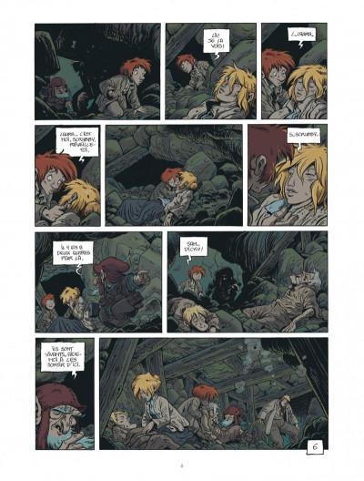 Page 8 la légende du changeling tome 3 - spring heeled jack