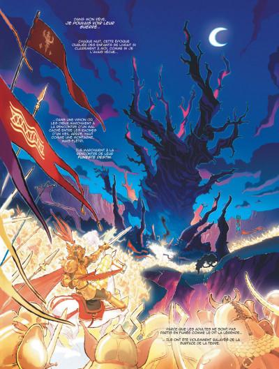 Page 5 légendes de parva terra tome 1 - là où les enfants ne s'aventurent pas