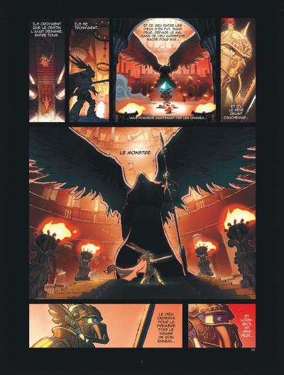 Page 7 légendes de parva terra tome 1 - là où les enfants ne s'aventurent pas