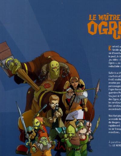 Dos le maître des ogres tome 1 - l'ile des os