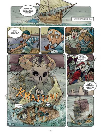 Page 2 le maître des ogres tome 1 - l'ile des os