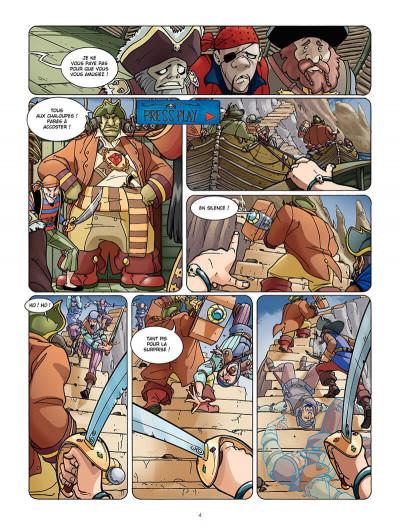 Page 3 le maître des ogres tome 1 - l'ile des os