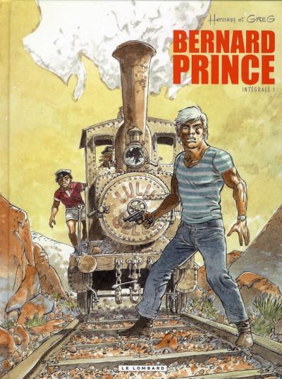 Couverture bernard prince - intégrale tome 1