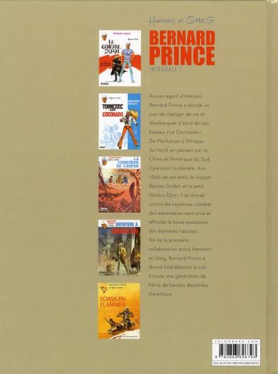 Dos bernard prince - intégrale tome 1