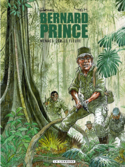 Couverture Bernard Prince tome 18 - menace sur le fleuve