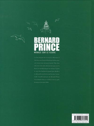 Dos Bernard Prince tome 18 - menace sur le fleuve