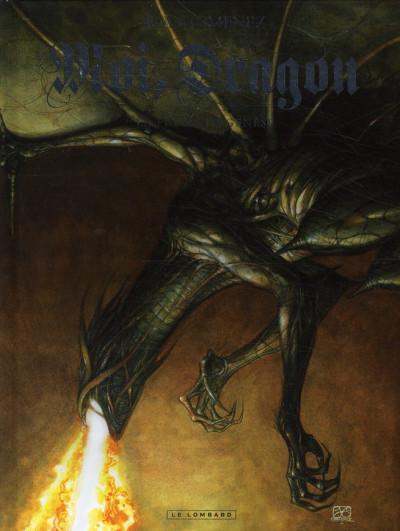 Couverture moi, dragon tome 1 - la fin de la génèse