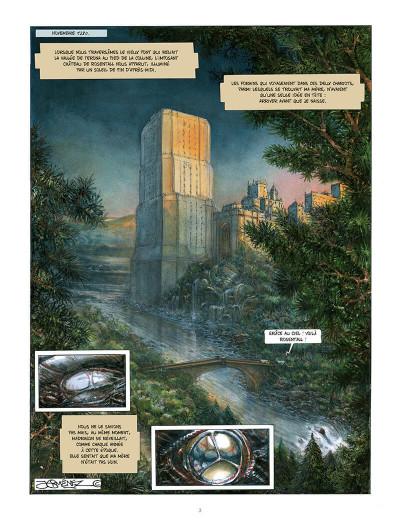 Page 2 moi, dragon tome 1 - la fin de la génèse