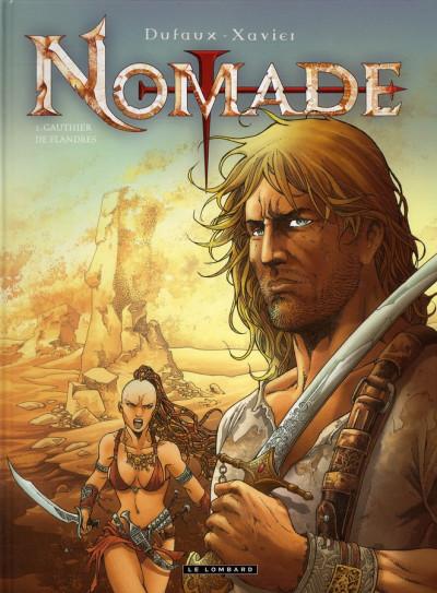 Couverture nomade tome 1 - la secte des assassins
