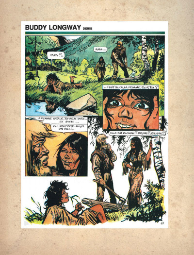 Page 2 Buddy Longway - intégrale tome 3