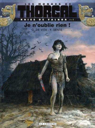 Couverture Les mondes de Thorgal - Kriss de Valnor tome 1