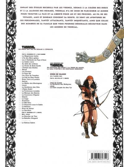 Dos Les mondes de Thorgal - Kriss de Valnor tome 1
