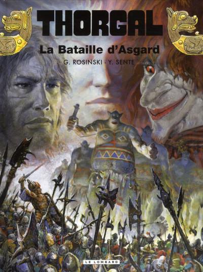 Couverture Thorgal tome 32 - la bataille d'Asgard