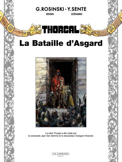 Page 1 Thorgal tome 32 - la bataille d'Asgard